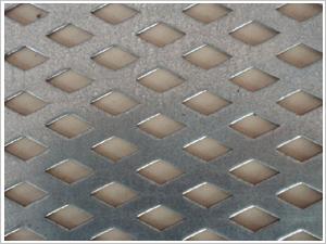 菱形孔冲孔网