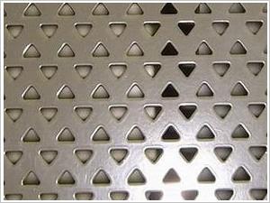 广西三角孔冲孔网