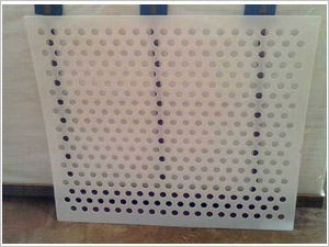 宁夏塑料板冲孔网